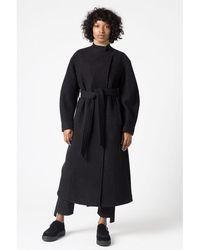 House of Dagmar Wool Coat - Black