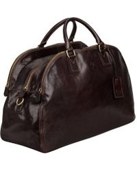 Maxwell Scott Bags - Brown Ladies Leather Luggage Bag - Lyst