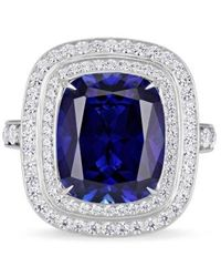 Atelier Swarovski 'swift' Chain Link Swarovski Crystal Double Ring