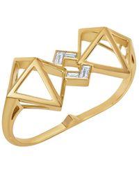 Atelier Swarovski - Double Diamond Double Ring Created Diamonds - Lyst