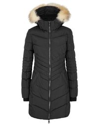 Pajar Queens Fur-trimmed Shell Parka - Black