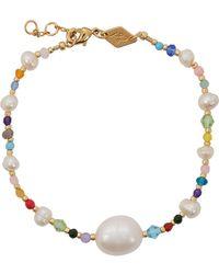 Anni Lu Rock & Sea 18kt Gold-plated Bracelet - Metallic
