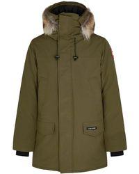 Canada Goose Langford Fur-trimmed Arctic-tech Parka - Green