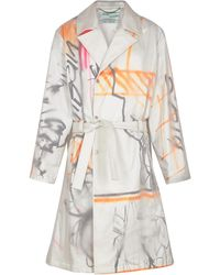 Off-White c/o Virgil Abloh X Futura Spray Paint Trench Coat - Multicolor