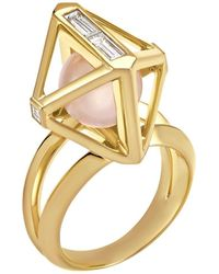 Atelier Swarovski Stephen Webster Double Diamond Ring Created Diamonds - Metallic