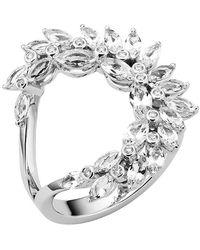Atelier Swarovski Luna Ring Swarovski Genuine Topaz And Created Diamonds - Metallic