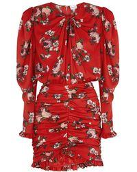 Magda Butrym Barletta Floral-print Dress - Red