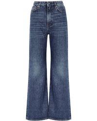 Totême Blue Flared Jeans