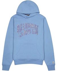 BBCICECREAM Blue Logo-print Cotton Sweatshirt
