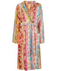 Missoni Josephine Striped Terrycloth Robe - Multicolour