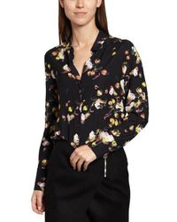 Cacharel - Aurore Floral Printed Shirt - Lyst