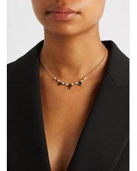 Étoile Isabel Marant Gold-tone Bead-embellished Necklace - Metallic