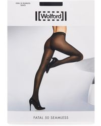 Wolford - Fatal 50 Seamless Tights - Lyst