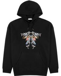 Givenchy Printed Cotton Sweatshirt - Black