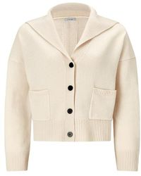 Jigsaw - Sailor Collar Slouchy Cardigan - Lyst