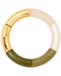 KYOTO TANGO Seabed Beaded Resin Bracelet - Green