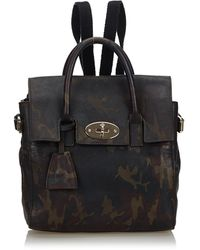 Mulberry Grey Backpack - Brown