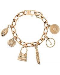 Jacquemus Le Bracelet Gold-tone Charm Bracelet - Metallic