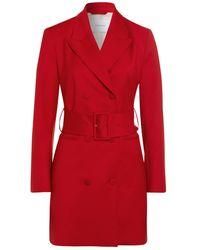 IVY & OAK Avena Grain Dress - Red