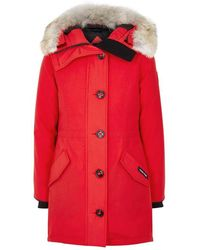 Canada Goose - Rossclair Fusion Fit Fur-trimmed Parka - Lyst