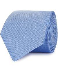 Eton of Sweden - Blue Jacquard Silk Tie - Lyst