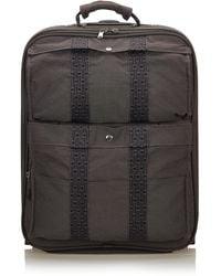 Hermès Grey Herline Luggage