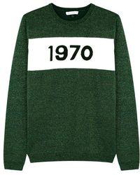 Bella Freud - 1970 Metallic Wool-blend Jumper - Lyst
