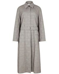 3.1 Phillip Lim - Checked Houndstooth Wool-blend Coat - Lyst