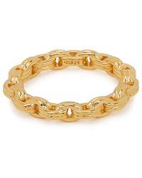 Missoma Bond 18kt Gold Vermeil Ring - Metallic