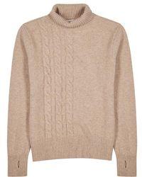 Oliver Spencer - Talbot Light Sand Wool Jumper - Lyst