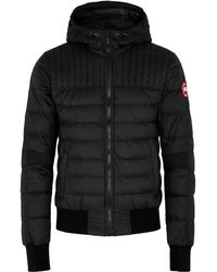 Canada Goose Cabri Black Quilted Shell Jacket