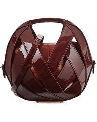 PERRIN Paris - Le Petit Pannier Leather Cross-body Bag - Lyst