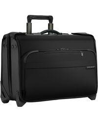 Briggs & Riley Carry On Wheeled Garment Bag - Black