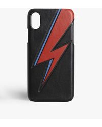 The Case Factory Iphone Xr Bowie Lightning Black