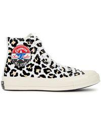 Converse Chuck 70 Leopard Canvas Hi-top Trainers - Multicolour