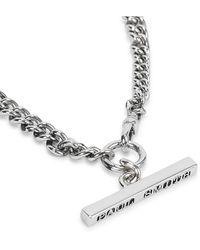 Paul Smith Silver-tone Chain Necklace - Metallic