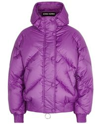 Ienki Ienki - Dunlop Quilted Shell Bomber Jacket - Lyst