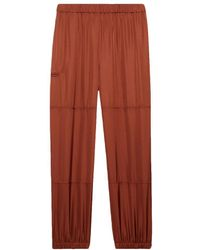 Theory Slim Cargo Pant In Twill - Multicolour