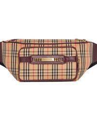 Burberry The Large 1983 Check Link Bum Bag - Multicolour
