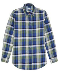 PS by Paul Smith - Checked Cotton-blend Shirt - Lyst