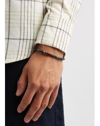 Tateossian Medium Sennit Beaded Bracelet - Multicolour