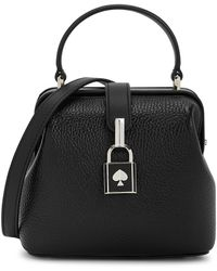 Kate Spade Remedy Small Leather Top Handle Bag - Black