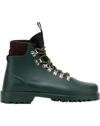 Weekend by Maxmara Rubber Hiking Boots - Green