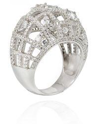 APPLES & FIGS Tout Paris Ring - Metallic