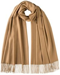 Johnstons Classic Cashmere Stole - Natural