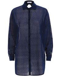 Paolita Navy Shirt - Blue