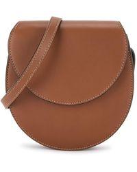 Hunting Season The Saddle Brown Leather Cross-body Bag