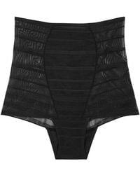 Wacoal - Sexy Shaping Stretch-mesh Briefs - Lyst