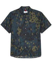 OAMC | Camouflage-print Linen Blend Shirt | Lyst