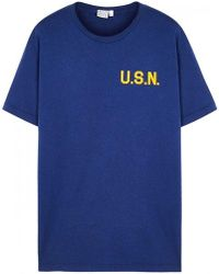 Ebbets Field Flannels - Great Lakes Printed Cotton T-shirt - Lyst